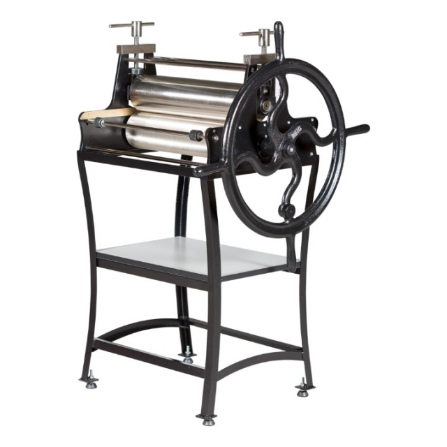 Stamping press WITHOUT REDUCTOR manufactured in steel, chrome plated and painted in epoxy